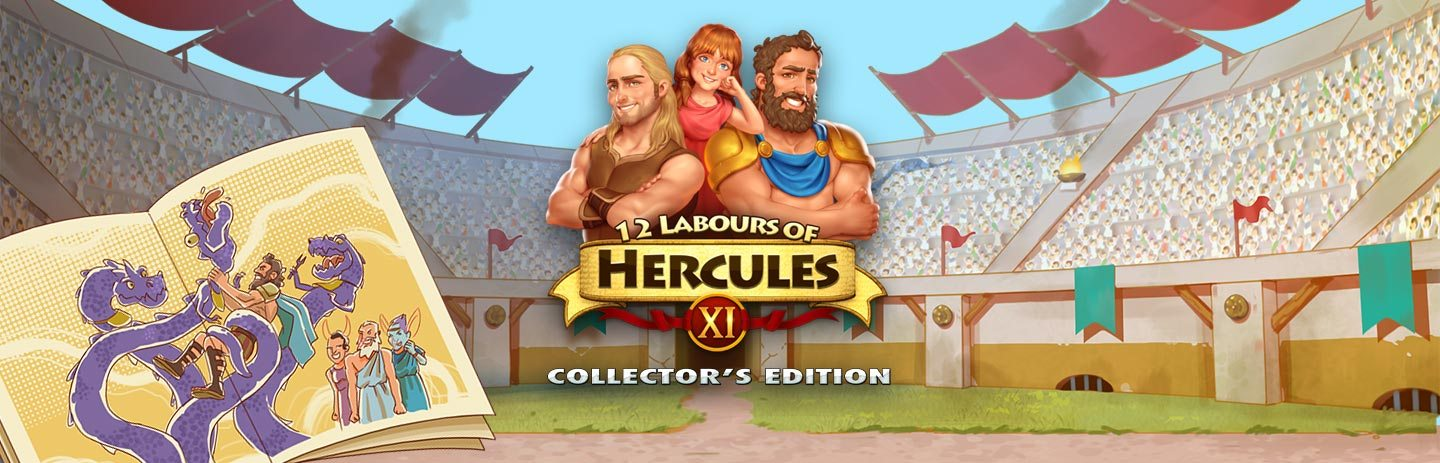 12 Labours of Hercules XI: Painted Adventure - Collector's Edition
