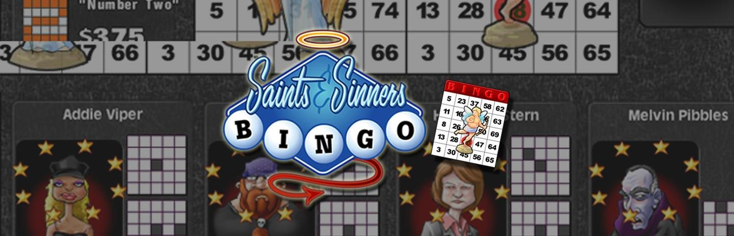 Saints and Sinners Bingo