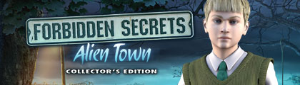 Forbidden Secrets: Alien Town Collector's Edition screenshot