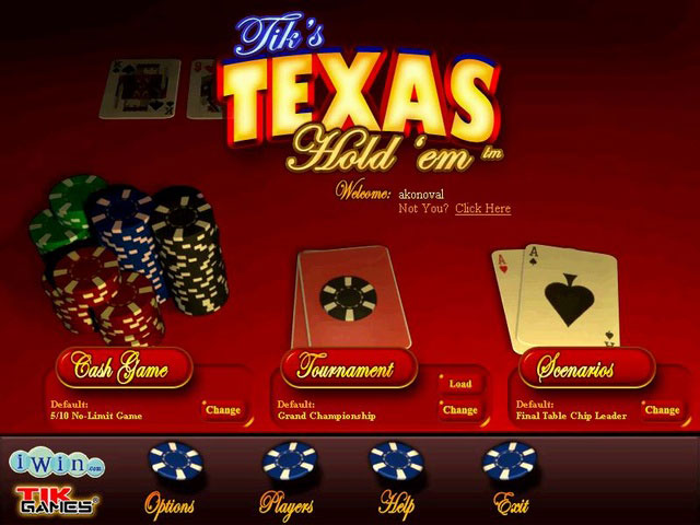 Texas Holdem large screenshot
