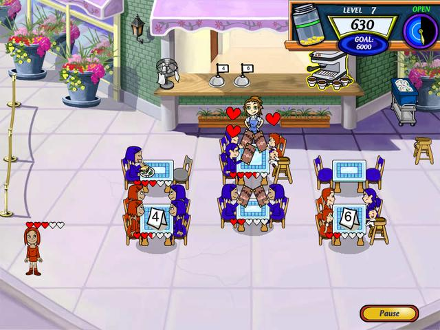 Diner Dash 2 large screenshot