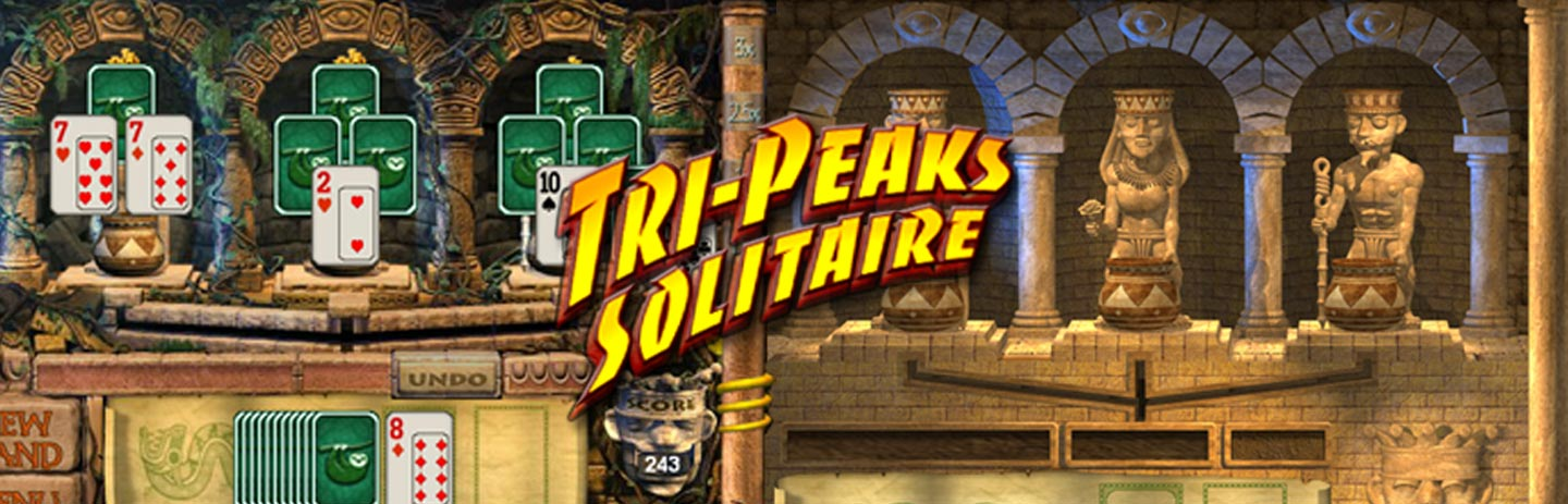 Tri-Peaks Solitaire To Go
