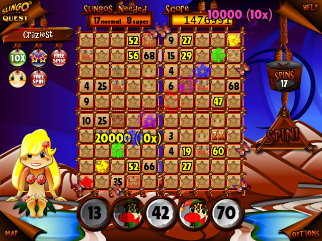 Slingo Quest Screenshot 1