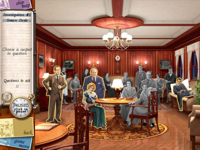 Agatha Christie Death on the Nile Screenshot 1