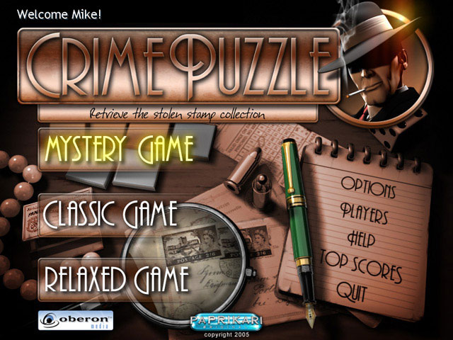 Crime Puzzle large screenshot