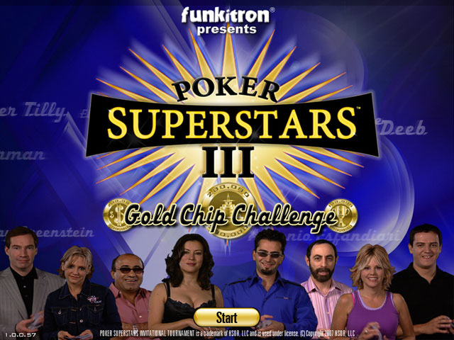 Poker Superstars III Screenshot 1