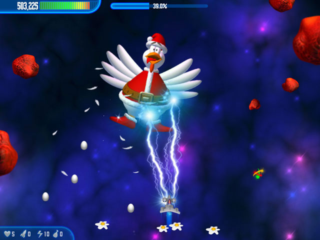 Chicken Invaders 3: Christmas Edition large screenshot