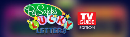 Pat Sajak's Lucky Letters TV Guide Edition screenshot