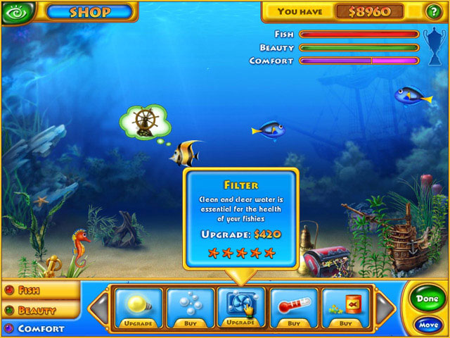 Fishdom large screenshot