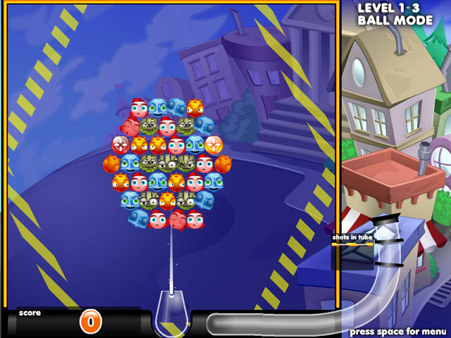 Bubble Town Screenshot 1