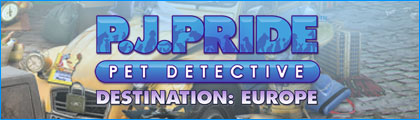 PJ Pride Pet Detective: Destination Europe screenshot