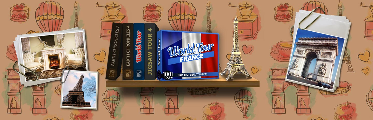 1001 Jigsaw World Tour - France
