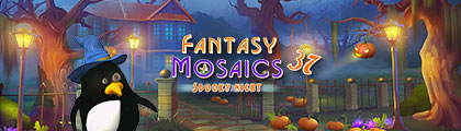 Fantasy Mosaics 37: Spooky Night screenshot
