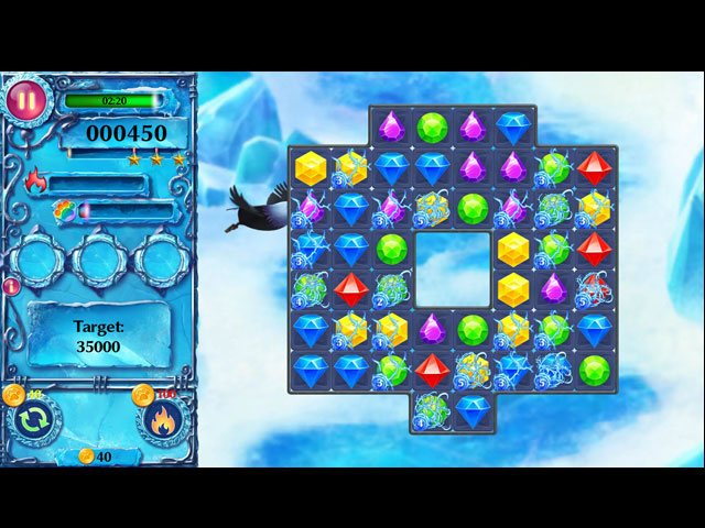 Ice Crystal Adventure large screenshot