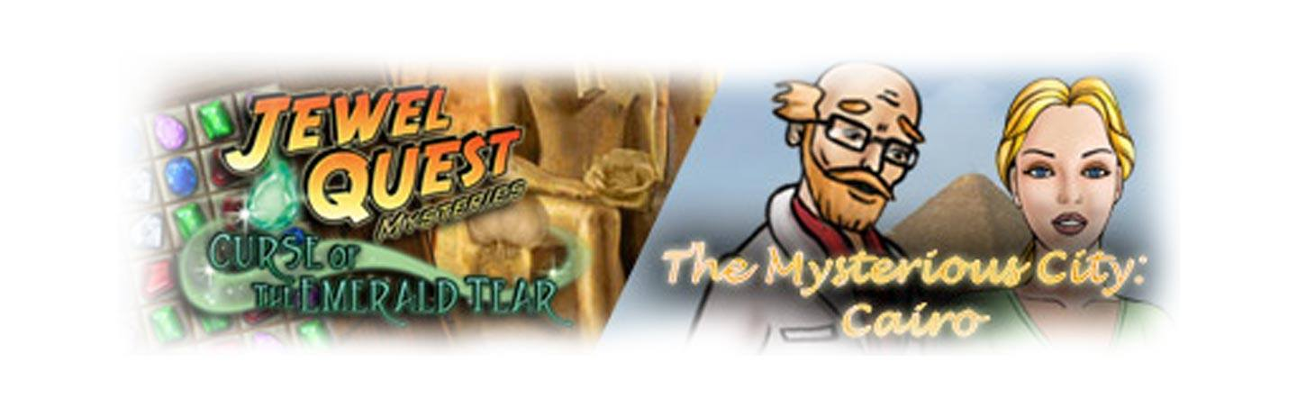 Double Play: Jewel Quest Mysteries and MC Cairo