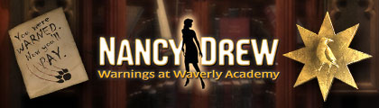 Nancy Drew - Warnings at Waverly Academy screenshot