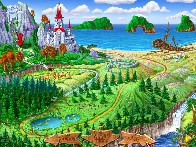 Wizard Land Screenshot 1