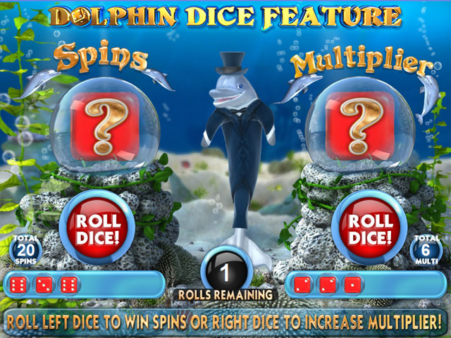 Dolphins Dice Slots large screenshot