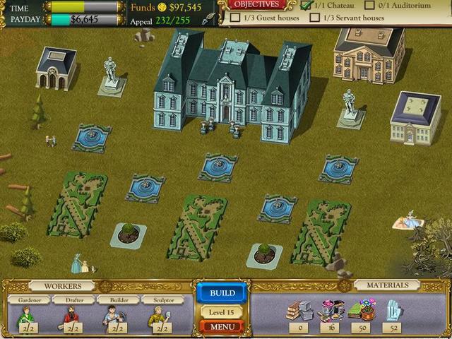 The Palace Builder Screenshot 1
