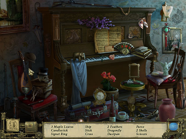 Dark Tales: Edgar Allan Poe's Murders in the Rue Morgue Collector's Edition large screenshot