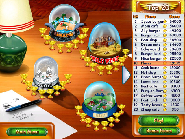 Burger Bustle large screenshot