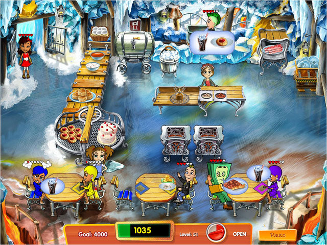 Cooking Dash 3: Thrills and Spills Screenshot 1