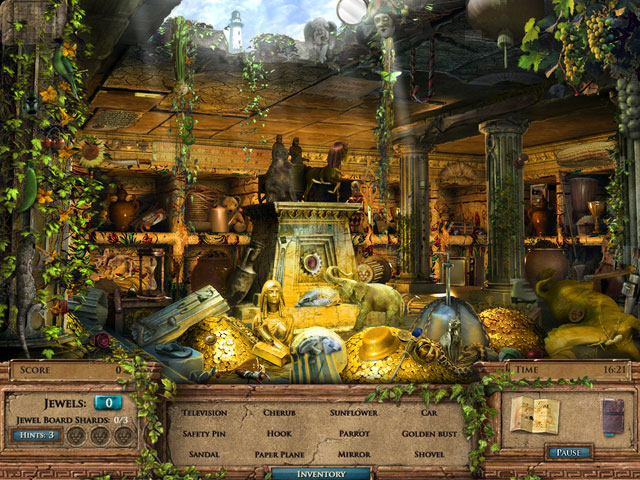Jewel Quest Mysteries: The Seventh Gate Collector's Edition large screenshot