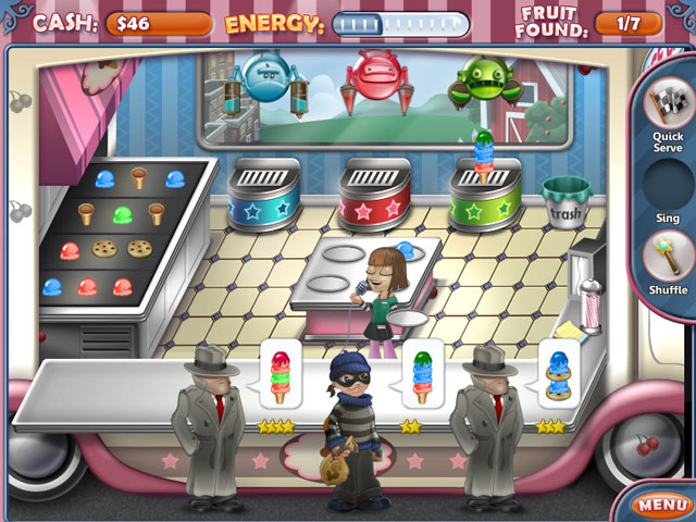 Ice Cream Craze: Natural Hero large screenshot