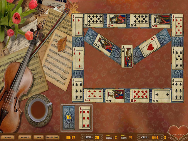 Royal Challenge Solitaire Screenshot 1