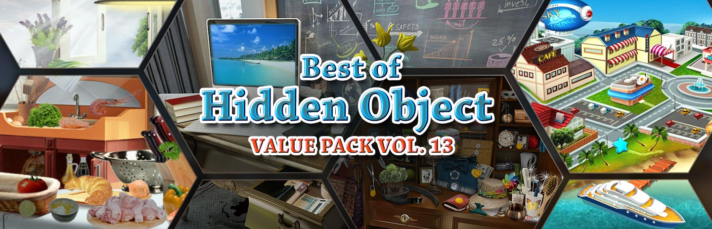Best of Hidden Object Value Pack Vol. 13