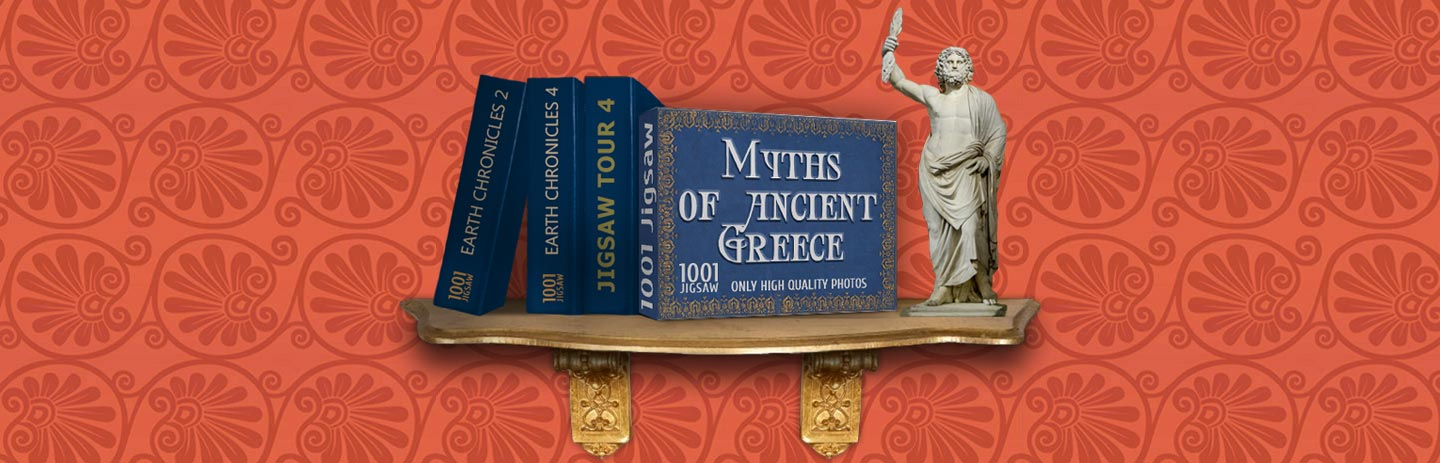 1001 Jigsaw Myths Of Ancient Greece
