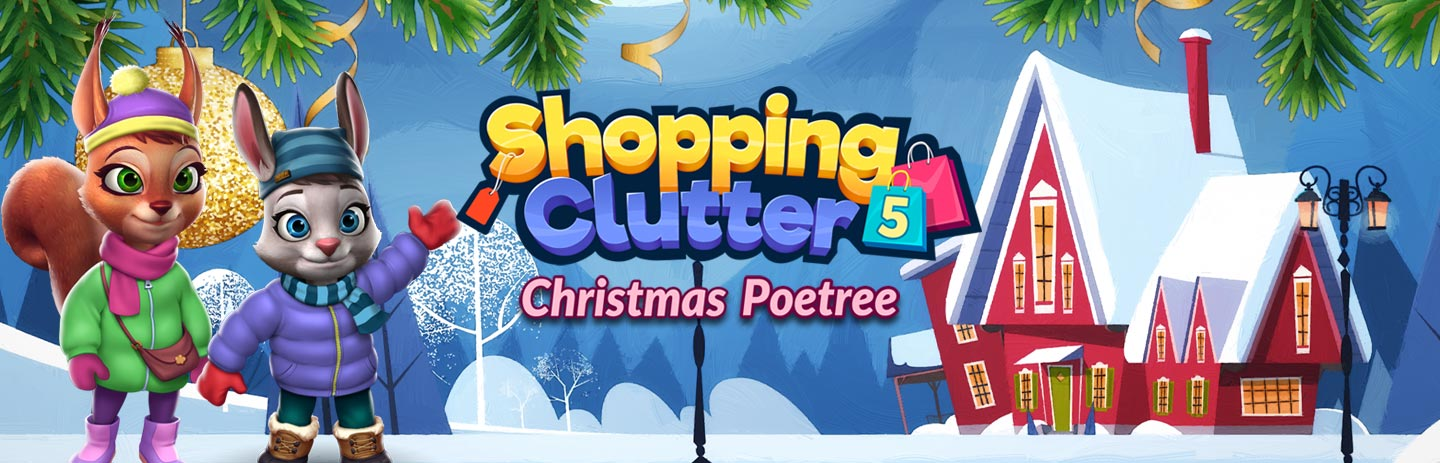 Shopping Clutter 5: Christmas Poetree