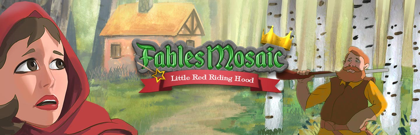 Fables Mosaic: Little Red Riding Hood