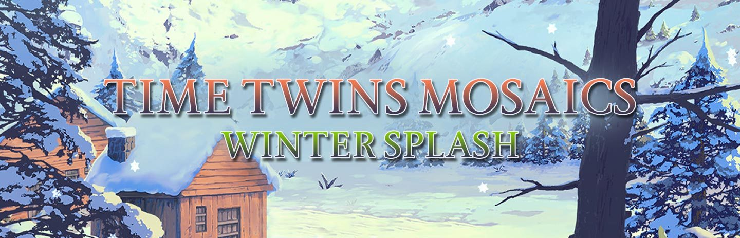 Time Twins Mosaics - Winter Splash