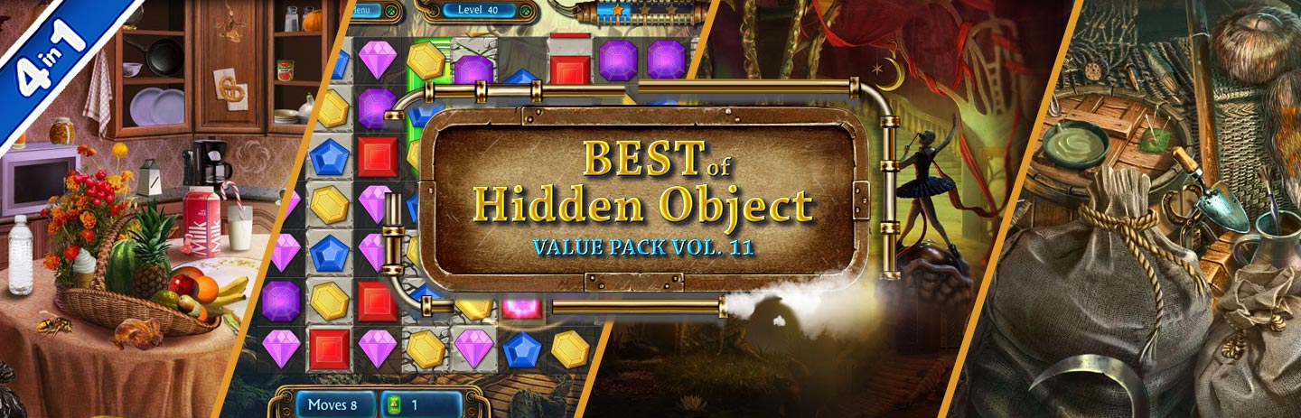 Best of Hidden Object Value Pack Vol. 11