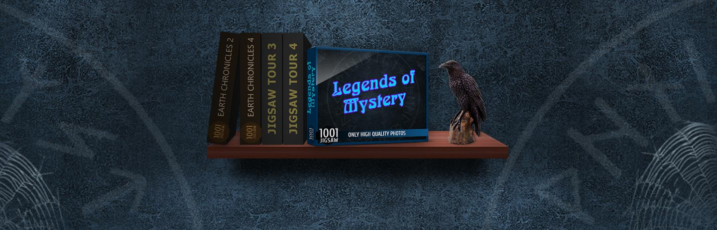 1001 Jigsaw - Legends of Mystery