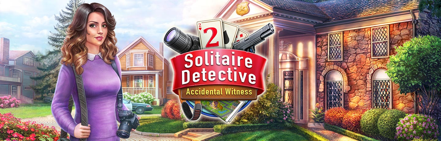 Solitaire Detective 2 - Accidental Witness