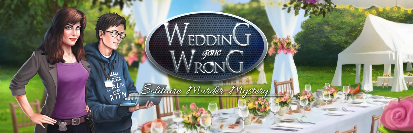 Wedding Gone Wrong - Solitaire Murder Mystery