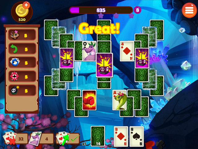 Rainforest Solitaire 2 large screenshot