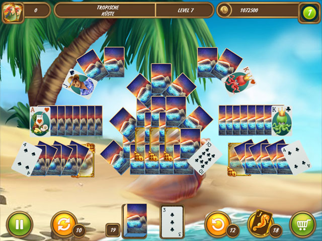 Solitaire Beach Season - A Vacation Time large screenshot