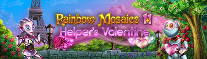 Rainbow Mosaics 11: Helper's Valentine screenshot