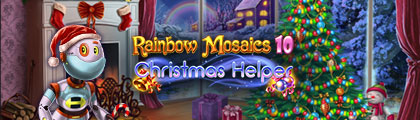 Rainbow Mosaics 10: Christmas Helper screenshot