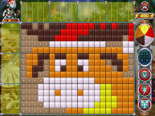 Rainbow Mosaics 10: Christmas Helper large screenshot