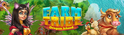 Farm Tribe - Dragon Island screenshot