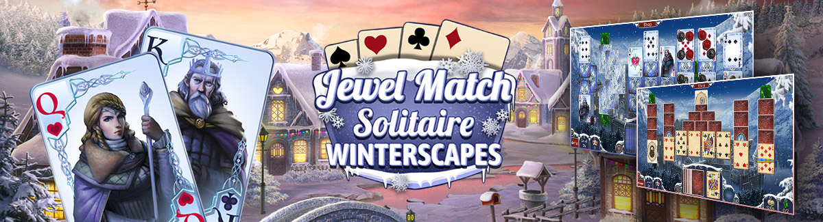 Jewel Match Solitaire Winterscapes