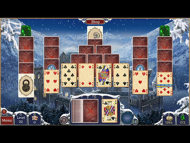 Jewel Match Solitaire Winterscapes large screenshot
