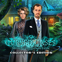 image for Cursed Cases: Murder at the Maybard Estate Collector's Edition