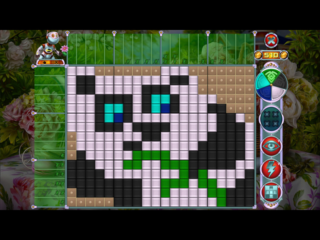 Rainbow Mosaics: Garden Helper large screenshot