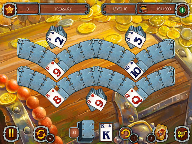 Solitaire Legend of the Pirates 3 large screenshot
