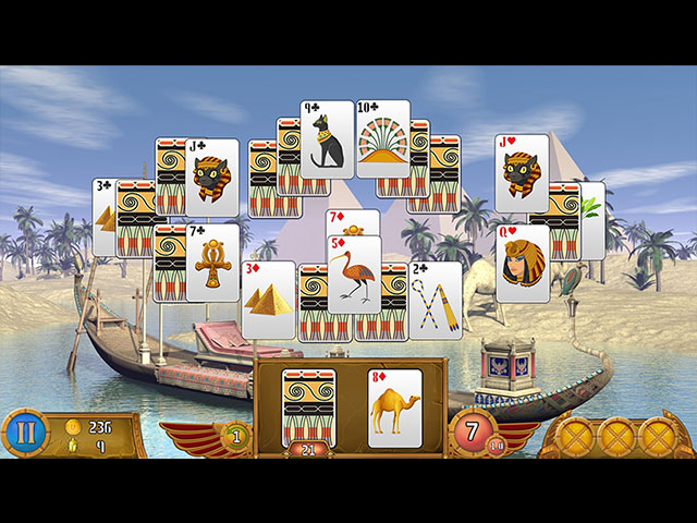 Luxor Solitaire large screenshot
